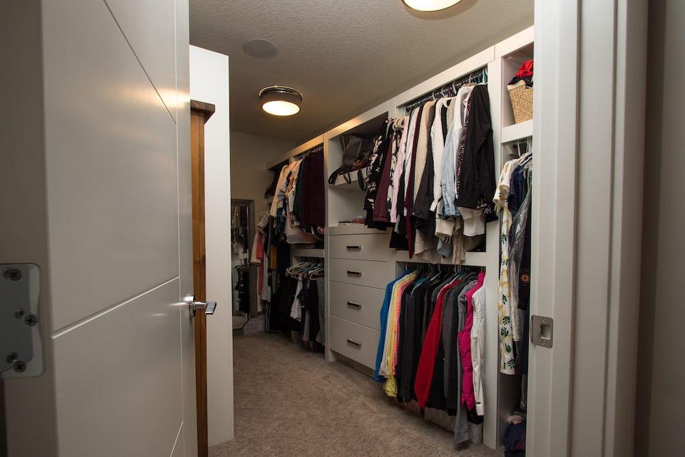 132 Baysprings Court Master Walk-In Closet