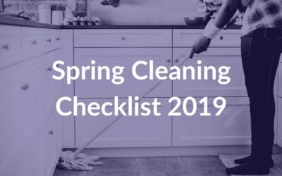 Spring Cleaning Checklist 2019