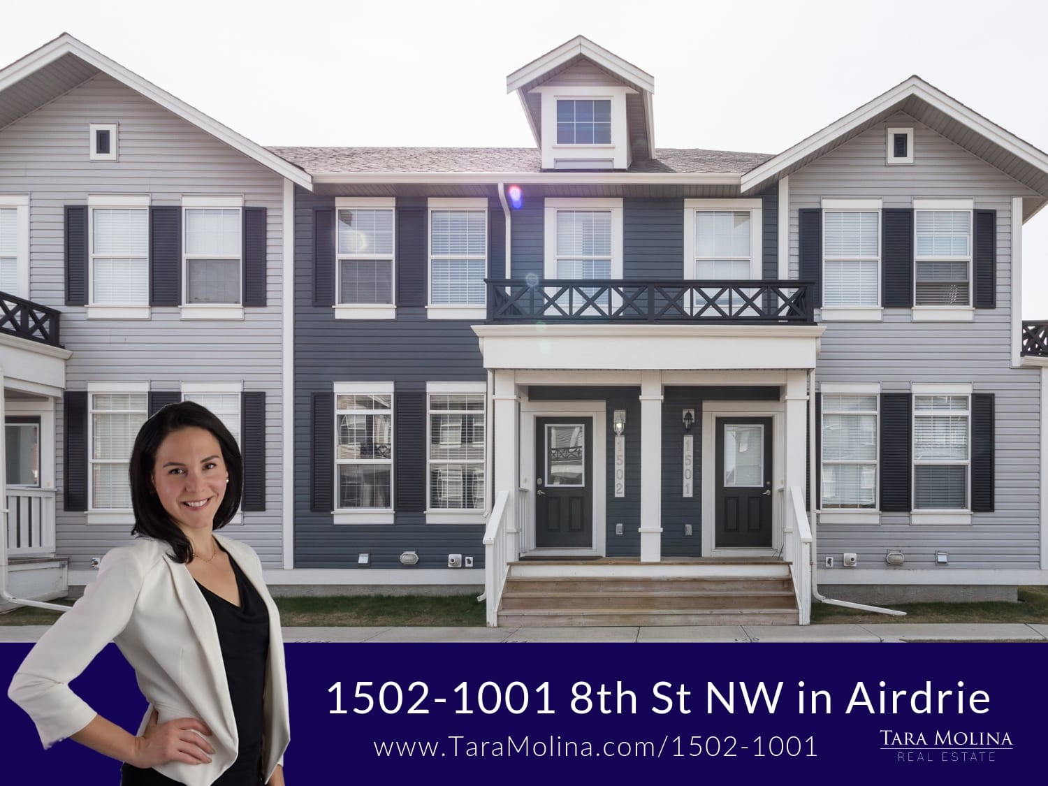 1502-1001 8th St NW in Airdrie