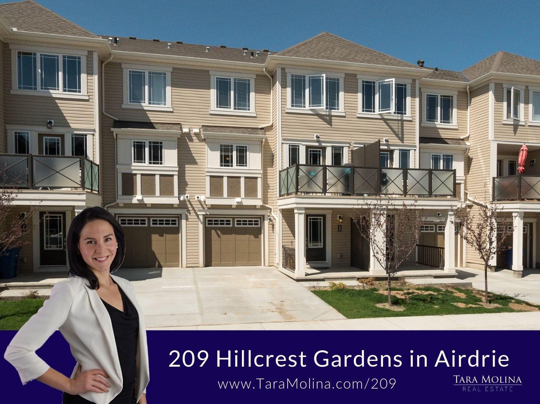 209 Hillcrest Gardens in Airdrie
