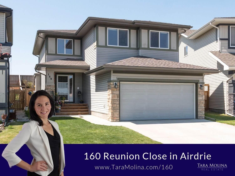 160 Reunion Close in Airdrie