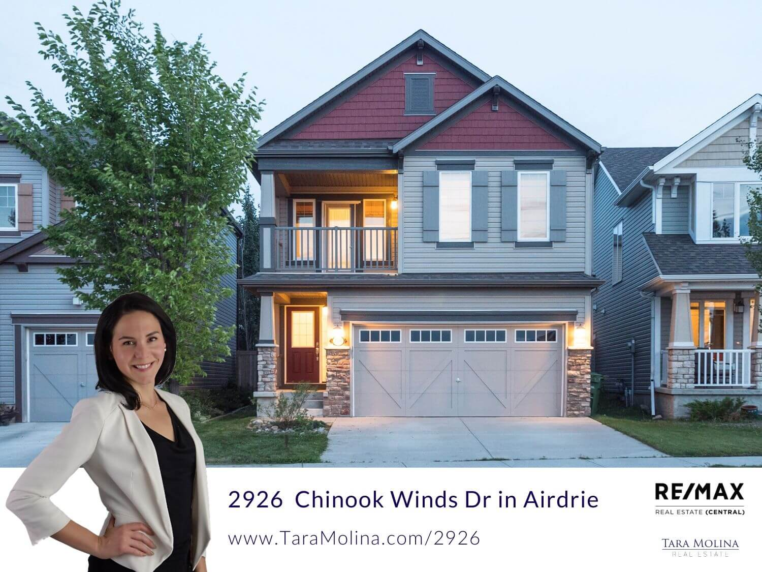 2926 Chinook Winds Dr in Airdrie