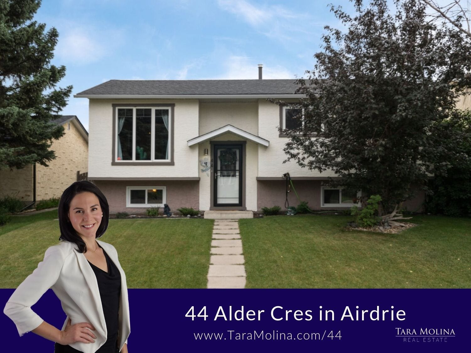 44 Alder Cres in Airdrie - Tara Molina Real Estate