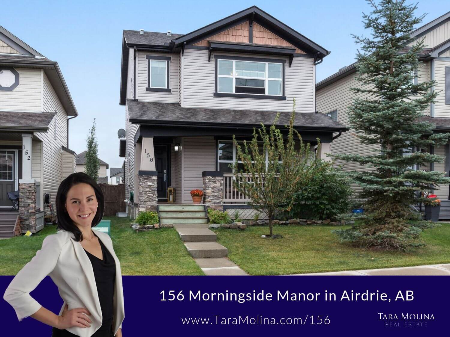 156 Morningside Manor in Airdrie, AB - Listing