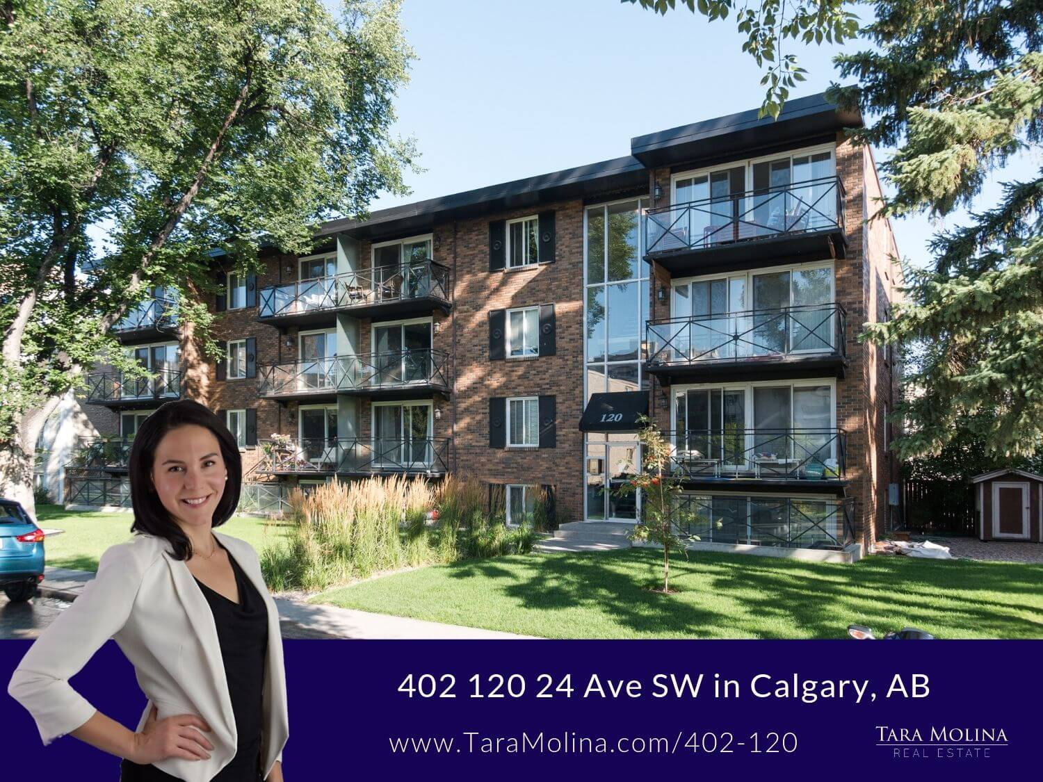 402 120 24 Ave SW in Calgary, AB - Listing