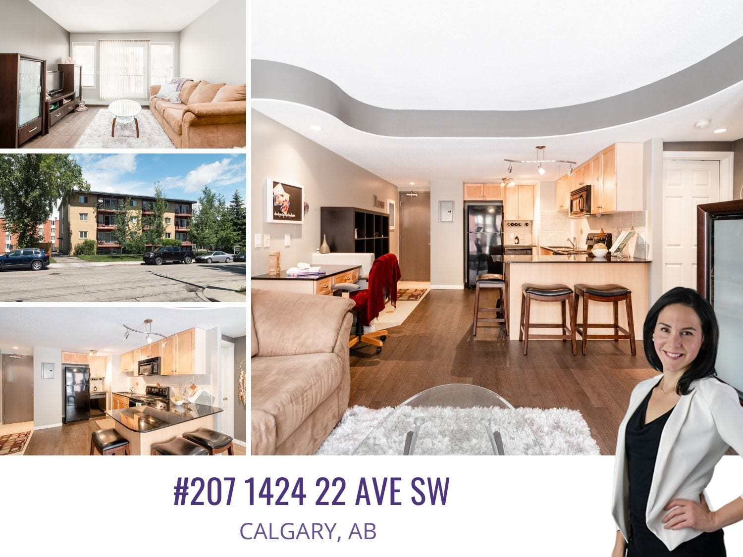 207 1424 22nd AVE SW in Calgary, AB