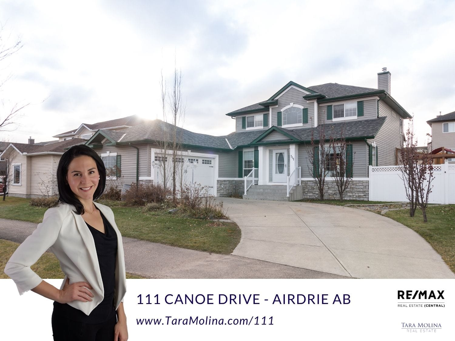 111 Canoe Drive - Airdrie AB - Listing