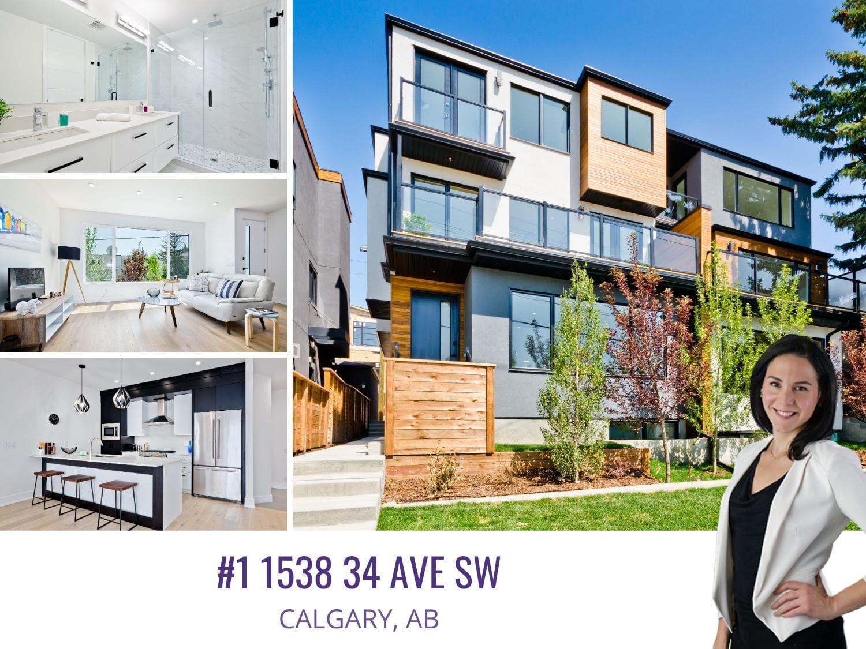 #1 1538 34 AV SW in Calgary AB