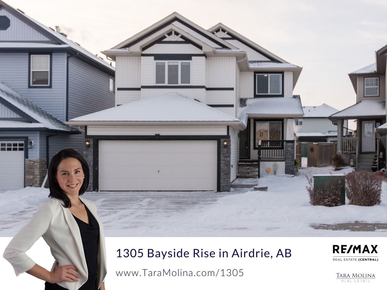 1305 Bayside Rise in Airdrie, AB