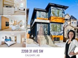 2208 31 Ave SW in Calgary AB