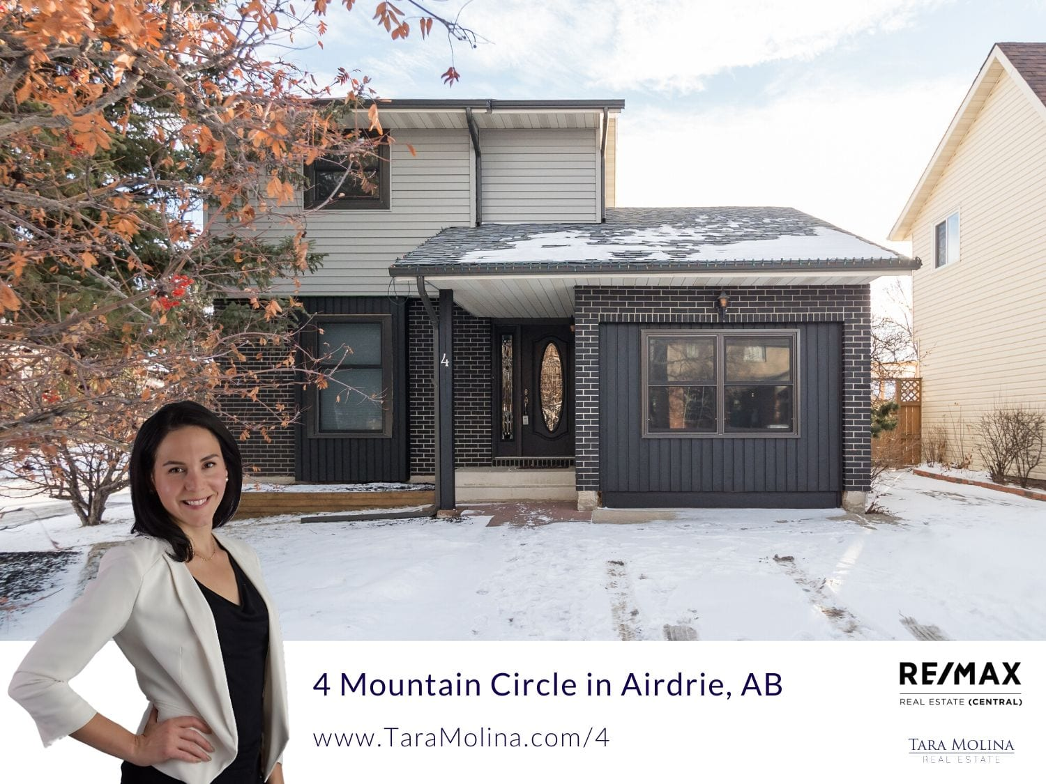 4 Mountain Circle in Airdrie, AB