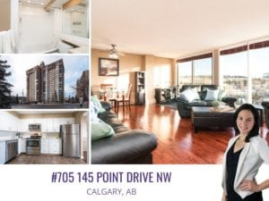 705 145 Point Drive in Calgary AB