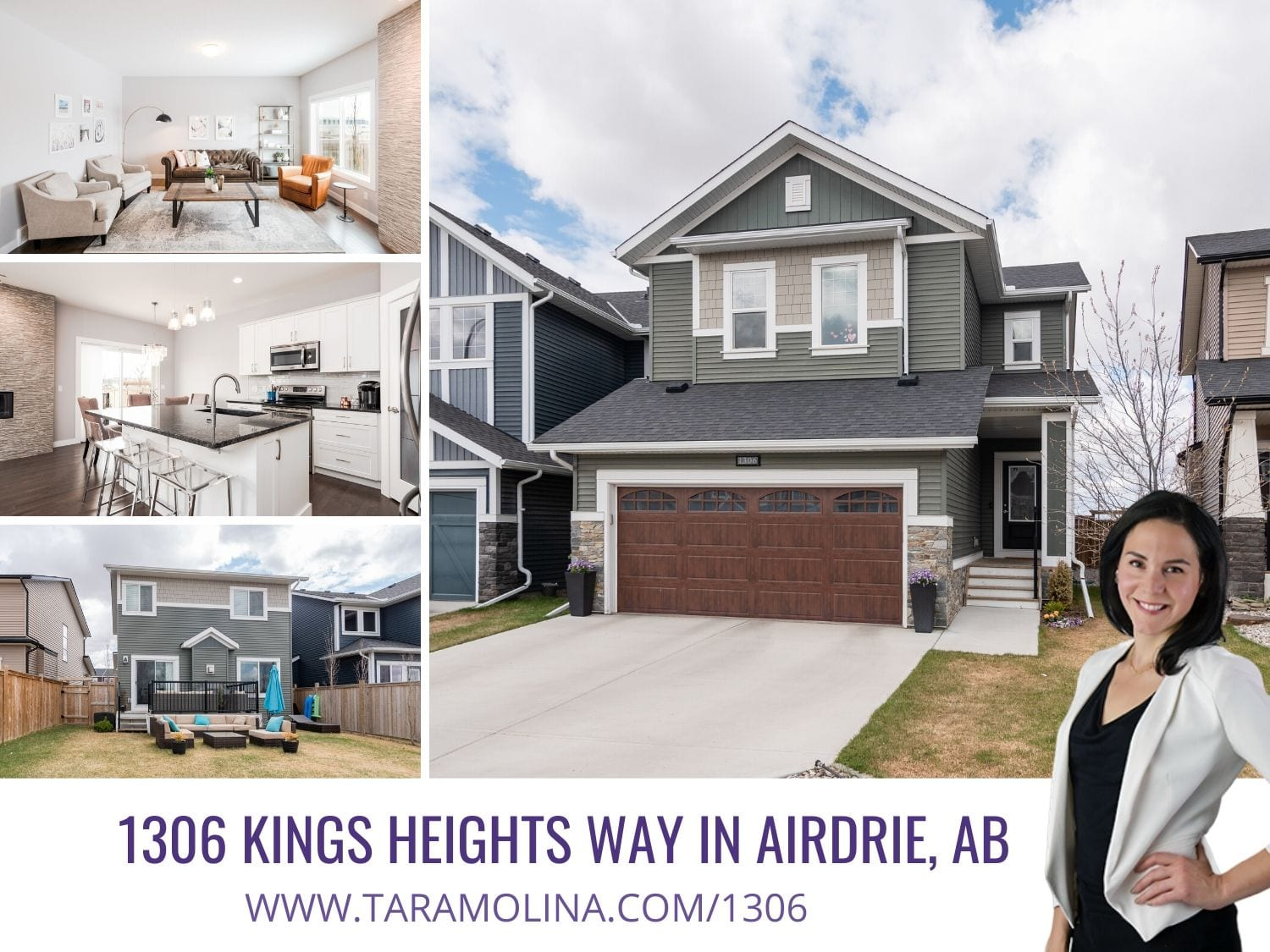 1306 Kings Heights Way in Airdrie