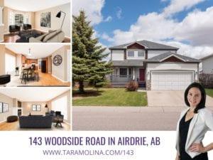 143 Woodside Road in Airdrie