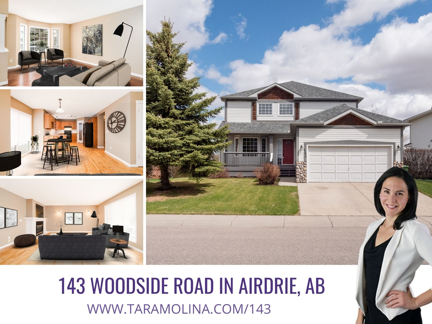 143 Woodside Road in Airdrie