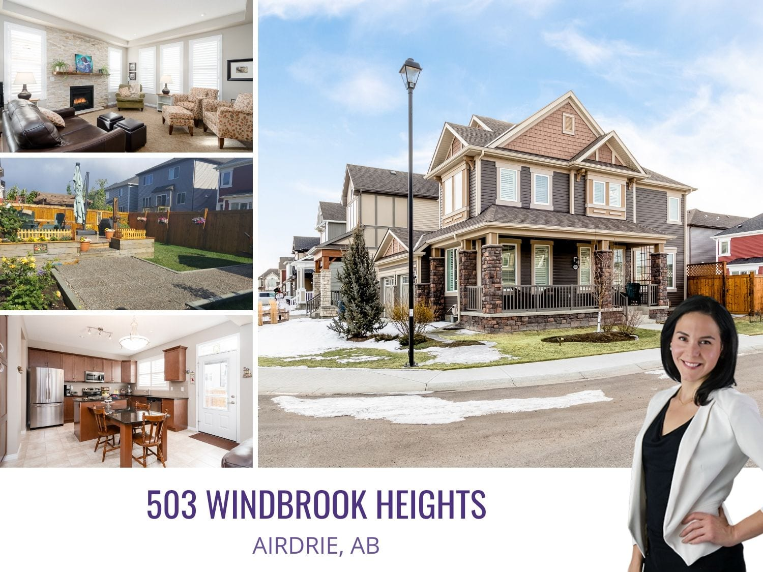 503 Windbrook Hts in Airdrie, AB