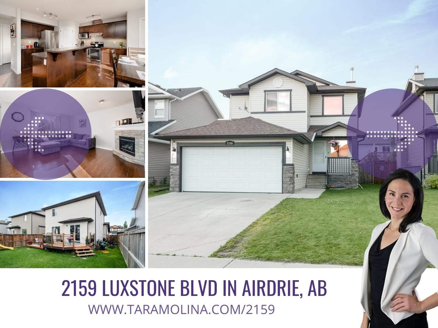 2159 Luxstone Blvd in Airdrie, AB