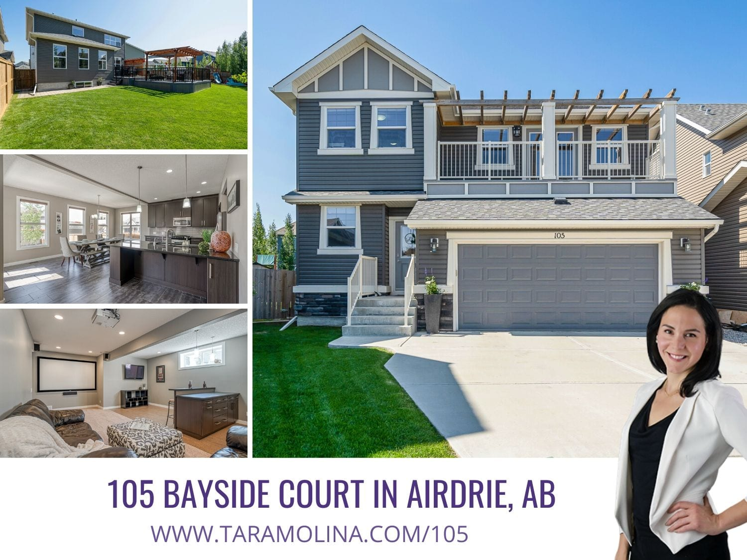 105 Bayside Court in Airdrie Ab