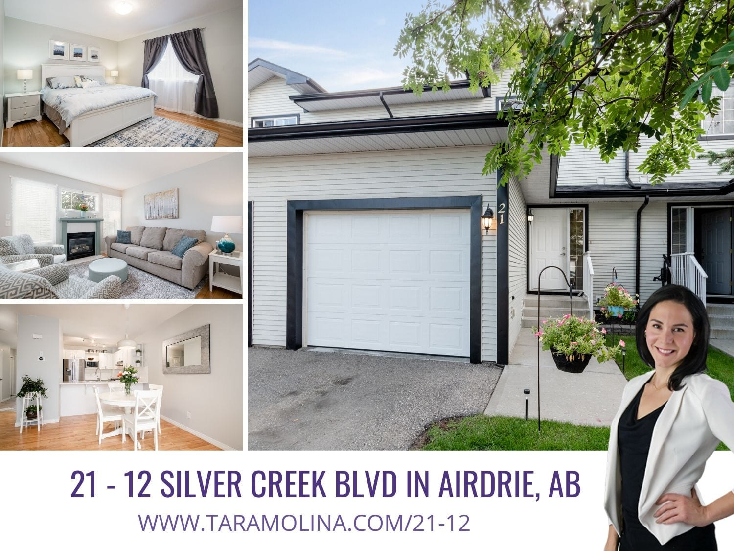21 - 12 Silver Creek Blvd in Airdrie AB