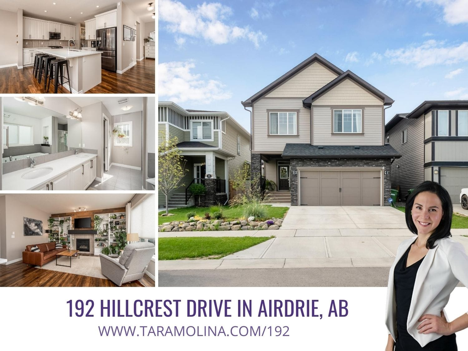 192 Hillcrest Drive in Airdrie