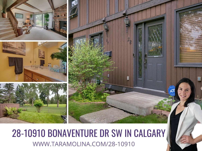 28-10910 Bonaventure Dr SW in Calgary