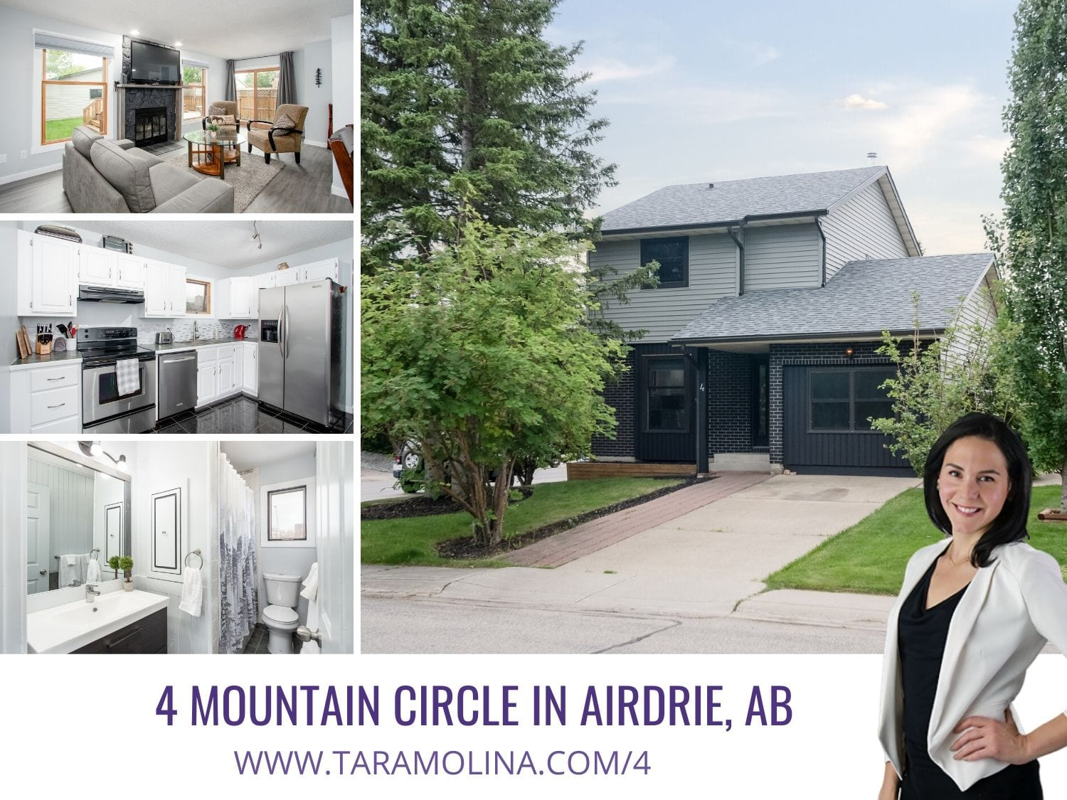 4 Mountain Circle in Airdrie, AB - Web Thumb