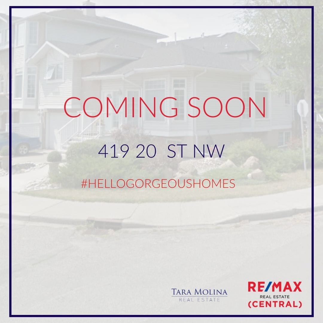 419 20 St NW in Calgary, AB - Coming Soon