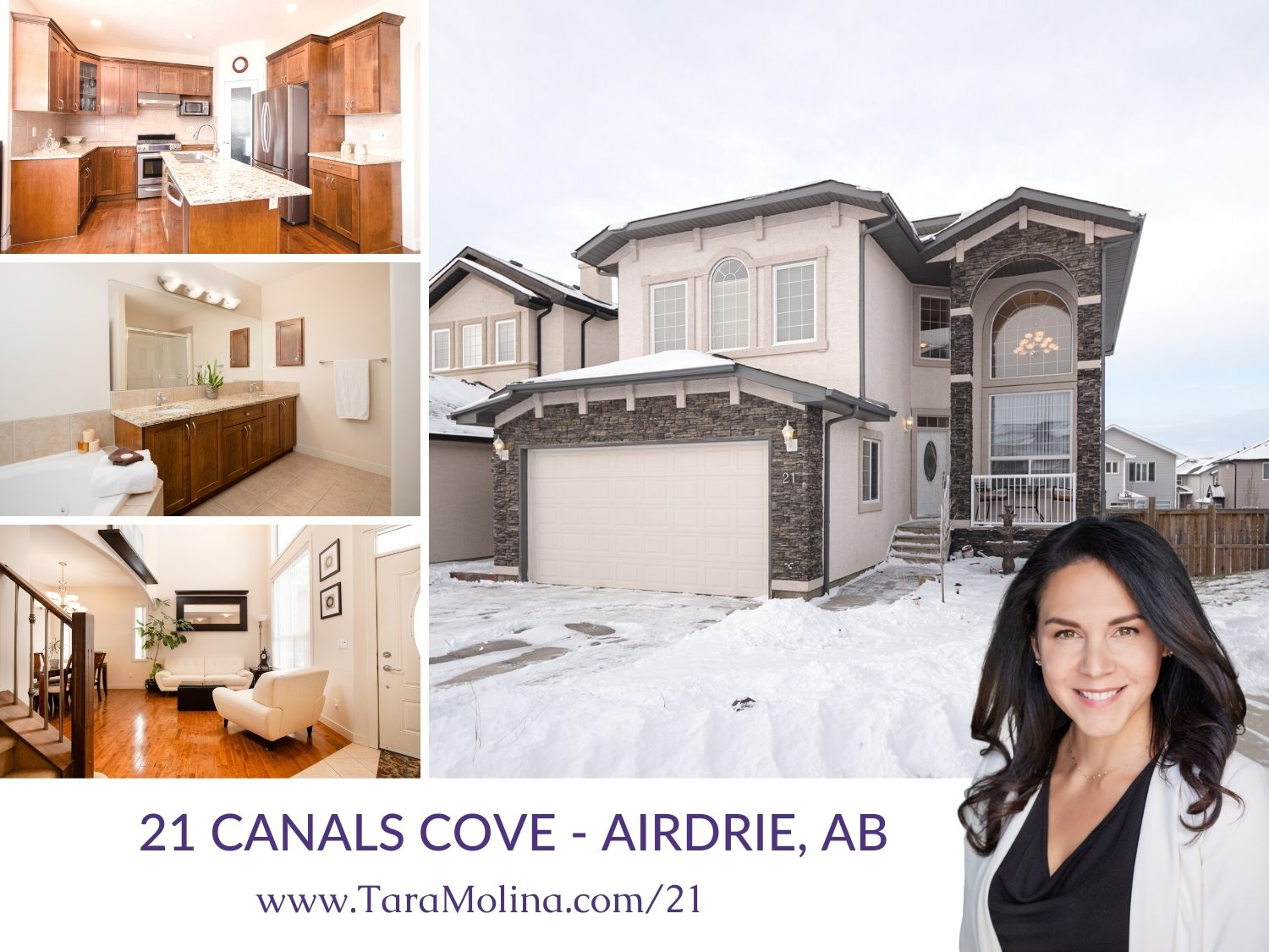 21 Canals Cove in Airdrie, AB